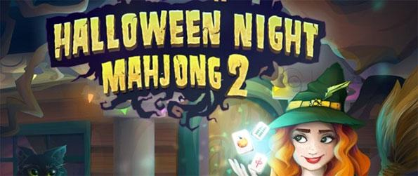 Halloween Night Mahjong 2 - Play this addictive mahjong game that takes place in a spooky Halloween themed environment.