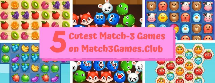 5 Cutest Match-3 Games on Match3Games.Club large