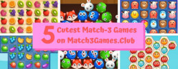 5 Cutest Match-3 Games on Match3Games.Club thumb
