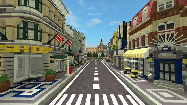 Roblox city