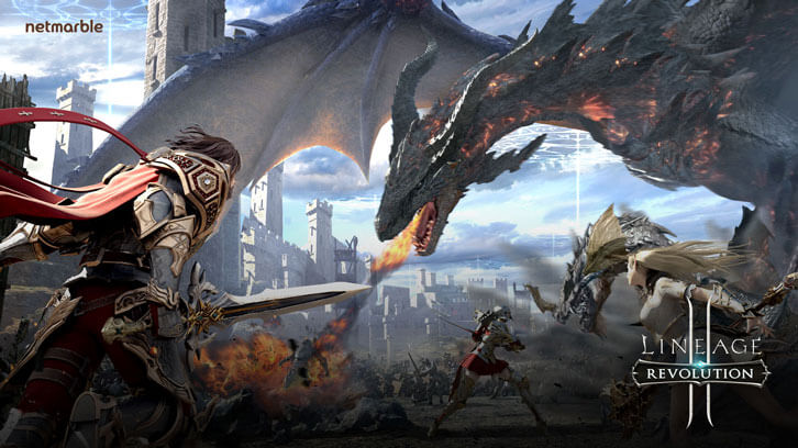 Gorgeous graphics in Lineage 2: Revolution