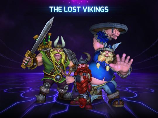 The lost vikings in HotS