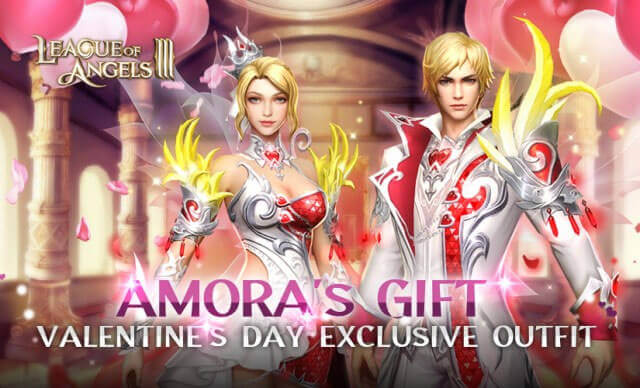 League of Angels III Rolls Out Valentine's Day and the Lunar Festival's Exclusive Outfits