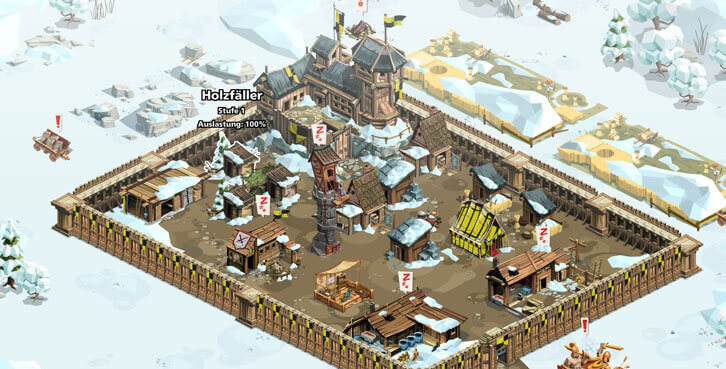 Goodgame Empire & Empire: Four Kingdoms are All Decked Out for Winter