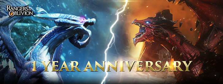 Rangers of Oblivion First Anniversary Calls  on Players to Hunt Down Monster Apparel and Weaponry