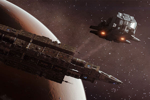 Frontier Unveils Full Elite: Dangerous 'Fleet Carriers' Details In Livestream And Reveals New Trailer