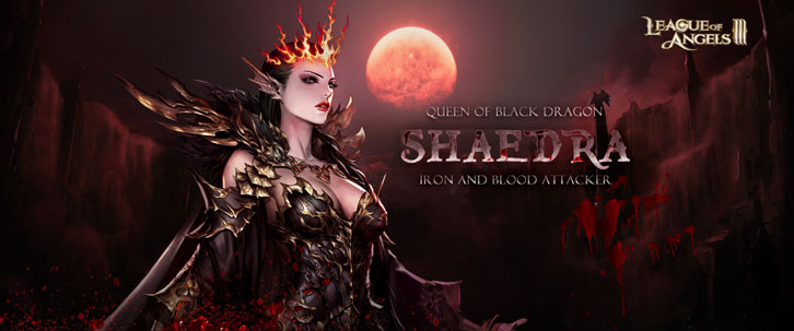 League of Angels 3 Brings in Shaedra!