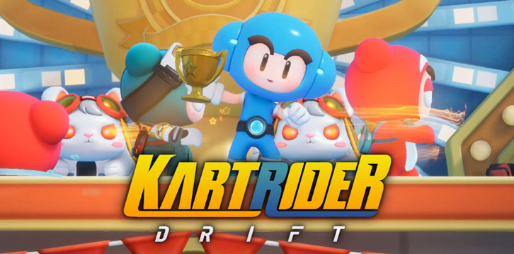 Pre-Download KartRider: Drift Today to Join the Closed Beta!