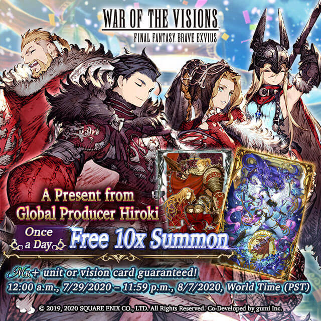 War of the Visions: Final Fantasy Brave Kicks Off Collaboration Event with the Legendary Final Fantasy I