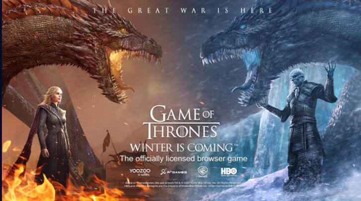 Game of Thrones: Winter is Coming Launches on R2 Games