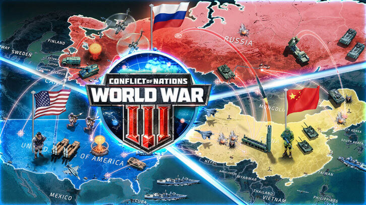 Conflict of Nations Brings Real-Time Strategic Modern Combat to iOS and Android Today
