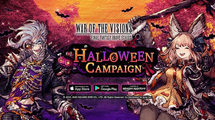 Hit Final Fantasy Mobile Games Bring Halloween Goodies with Halloween Special In-Game Event