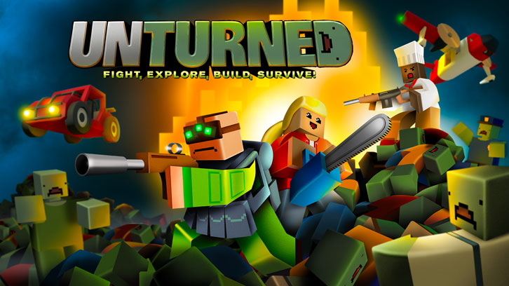 Survival Sandbox Game Unturned Launches for PlayStation 4 and Xbox Today