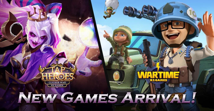 New games delivered in May! Find and Play on R2 Games!