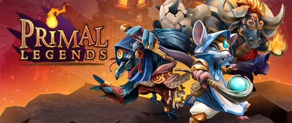 Primal Legends - Compete against players from all over the world in a fierce match-3 card game Primal Legends.