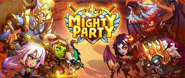 Mighty Party - Summon creatures from your cards to eliminate your enemies in this fun-filled MMO game, Mighty Party!