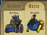 Picking units in Bang! Howdy