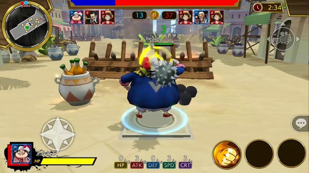 One Piece Bounty Rush - MMO Square