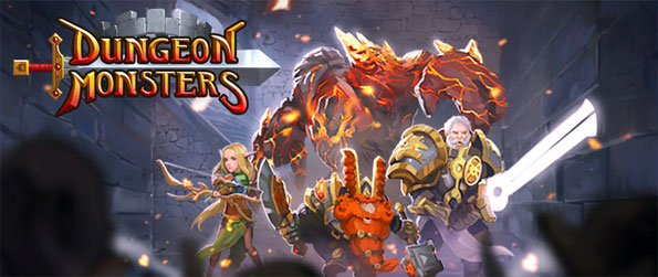 Dungeon Monsters - Escape the darkness in this amazing dungeon crawler Dungeon Monsters.