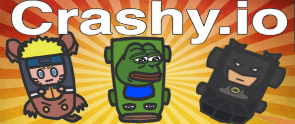 Crashy.io - Play in this competitive bumper cars-themed IO game and climb up the leaderboard