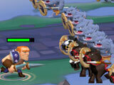 Conquer other races in Game of Warriors