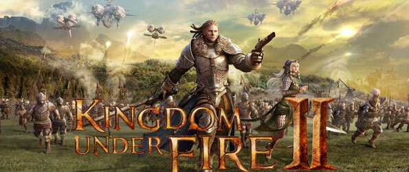 Kingdom Under Fire 2 - Command your army and take the fight to your enemies in thrilling real-time strategy battles in this one-of-a-kind MMORPG/RTS game, Kingdom Under Fire 2!