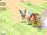 Fighting with friends in The Labyrinth of Ragnarok
