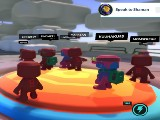 Playing with the gang in Blankos Block Party