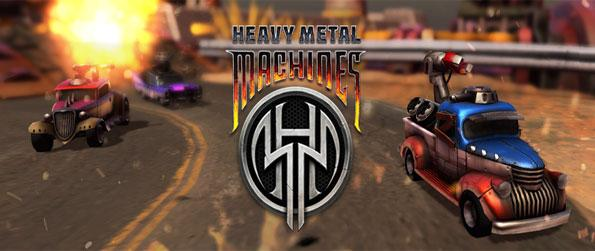 Heavy Metal Machines - Enter the world of Metallia And Battle in a Stunning New Moba Full of War Machines.