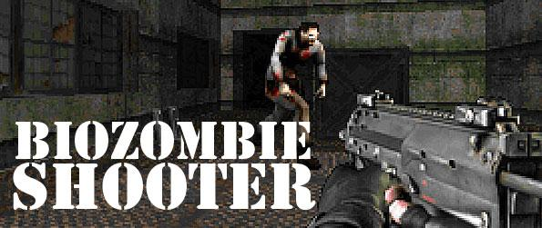 Biozombie Shooter - Escape the horror of being trapped in a chamber swarming with hungry zombies in this frantic FPS game in Facebook.