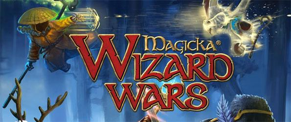 Magicka: Wizard Wars - Choose a wizard of your preference go berserk on your opponents as you try to eliminate them with all your spells.
