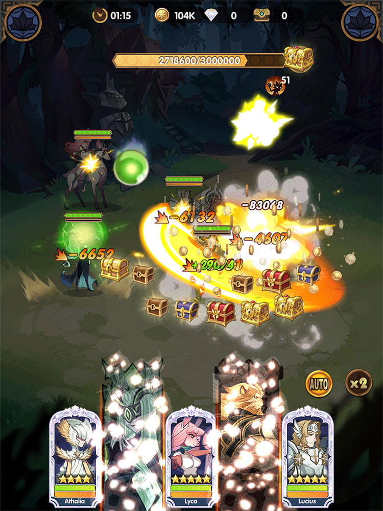 afk arena  mobile4pc