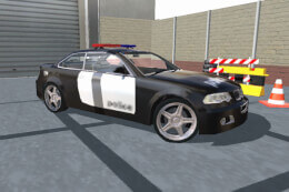 Police Car Parking City Highway: Car Parking Games thumb