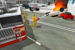 Fire Truck Rescue Simulator thumb