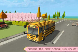 School Bus Simulator: Blocky World thumb