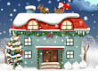 Christmas Rooms Differences game