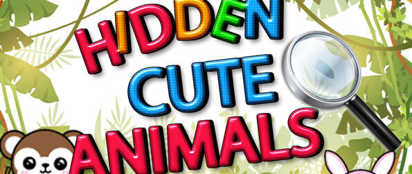 Hidden Cute Animals - Find various well-hidden animals in this hidden objects game, Hidden Cute Animals!