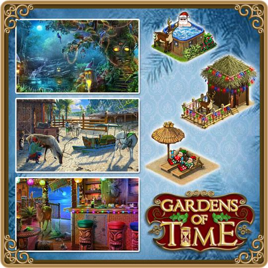 Enjoy Christmas Themed Items in Gardens of Time