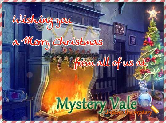 Merry Christmas and a Happy New Year from MysteryVale