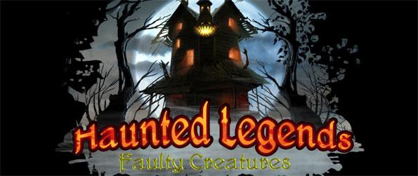 Haunted Legends: Faulty Creatures Collector's Edition - Investigate a murder in this epic hidden object adventure Haunted Legends: Faulty Creatures Collector's Edition.