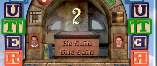 Clutter II: He Said She Said - Play a different kind of Hidden Object puzzle.