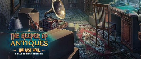 The Keeper of Antiques: Last Will Collector's Edition - There's more power to the past than you think. The Keeper of Antiques: Last Will Collector's Edition takes you on an incredibly engaging journey to finding an artifact that has placed an entire town under the spell.