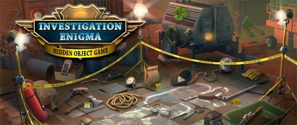 Hidden Objects Investigation Enigma - Help the detective scour each hidden object scene to find important clues in Hidden Objects Investigation Enigma!