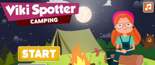 Viki Spotter: Camping - How good are your eyes in spotting the differences? There's only one way to find out: play Viki Spotter Camping Edition.