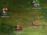 Choosing a Location in Adventure Trip: London Collector's Edition