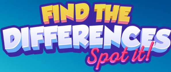 Find the differences: Spot It 2 - Show off your keen eyes in this all-new differences detection game and have a blast!