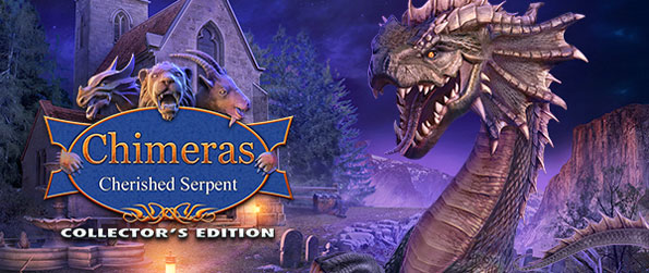 Chimeras: Cherished Serpent - Uncover the mystery behind an odd string of deaths in this captivating hidden object game that delivers on all fronts.