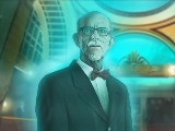 Holographic Butler in The Emerald Maiden: Symphony of Dreams