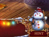Hint button in Christmas Adventure: Candy Storm