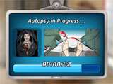 Criminal Case: Supernatural Investigations performing an autopsy